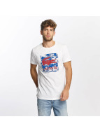 Lacoste Classic t-shirt Sport wit