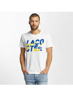 Lacoste Classic t-shirt Kroko wit