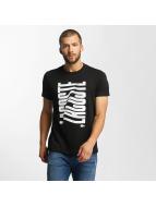 Lacoste Classic t-shirt Wave zwart