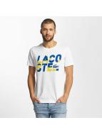 Lacoste Classic T-skjorter Kroko hvit
