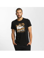 Lacoste Classic T-skjorter Signs svart