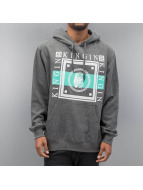 Last Kings Sweat capuche Walls gris