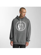 Last Kings Sweat capuche Skulll gris
