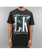 Last Kings t-shirt Foral zwart