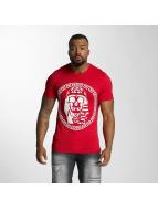 Last Kings T-shirtar Skull röd