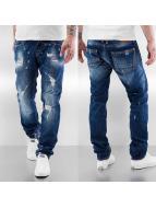 Le Temps Des Cerises Loose fit jeans 711 Charl blå