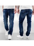 Le Temps Des Cerises Loose Fit Jeans 711 Basic niebieski