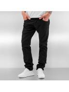 Le Temps Des Cerises Loose fit jeans 711 Basic zwart