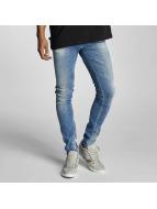 Le Temps Des Cerises Slim Fit Jeans 715 Power blauw