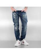 Le Temps Des Cerises Straight Fit Jeans 711 Daze blå
