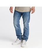 Le Temps Des Cerises Straight Fit Jeans 711 Finn blå