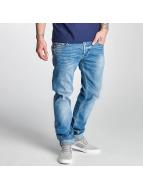 Le Temps Des Cerises Straight fit jeans 711 Basic blauw