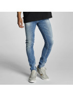 Le Temps Des Cerises Straight fit jeans 715 Power blauw