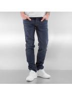 Le Temps Des Cerises Straight Fit Jeans 711 Basic modrý