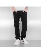 Le Temps Des Cerises Straight fit jeans 711 Basic zwart