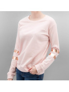Lee Пуловер Foil розовый
