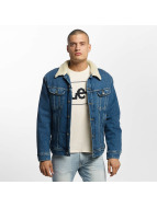 Lee Lightweight Jacket Sherpa Rider blue