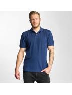 Lee Poloshirts Pique blå