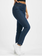 Lee Croppend Tapered Ankle Jeans Inside Blue