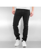Lee Straight Fit Jeans Rider čern