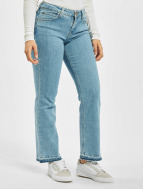 Lee Straight Fit Jeans Cropped Boot blau