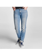 Lee Straight fit jeans Elly blauw