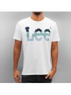 Lee T-shirt Seasonal Logo bianco