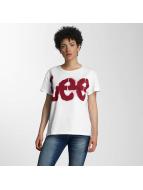 Lee T-Shirt Logo blanc
