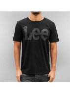 Lee T-Shirt Seasonal Logo noir