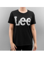 Lee Logo T-Shirt Black
