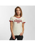 Lee T-Shirty Kansas bezowy