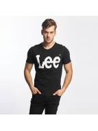 Lee Logo T-Shirt Black