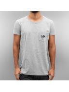 Lee T-Shirty Pocket szary