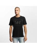Lee T-skjorter Lee svart