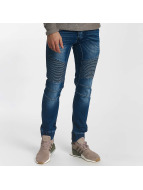 Leg Kings Ribbed Jeans Blue
