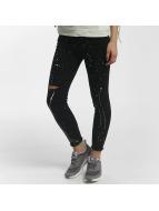 Leg Kings Skinny Jeans KatjaBLACK čern