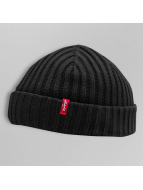 Levi's® шляпа Ribbed черный