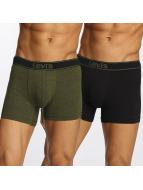 Levi's® Boksershorts Boxershorts Brief Vintage Heather 2-Pack oliven