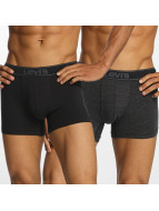 Levi's® Boxershorts Brief Vintage Heather 2-Pack schwarz