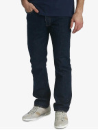 Levi's® Jeans Straight Fit Button Fly Onewash bleu