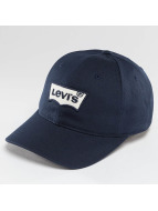 Levi's® snapback cap Embroidered Batwing blauw