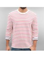 Levi's® T-Shirt manches longues Mission Tee Quarter Stripe rouge