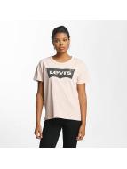 Levi's® T-Shirt The Authentic rosa