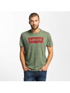 Levi's® T-Shirty Housemark Graphic oliwkowy