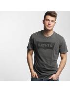 Levi's® Tričká Housemark Graphic èierna