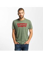 Levi's® Trika Housemark Graphic olivový