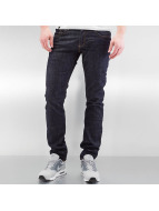 Lindbergh Jeans straight fit Tapered Stretch Fit indaco