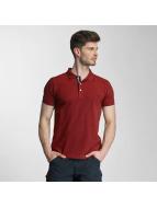 Lindbergh Koszulki Polo Contrast Pique czerwony