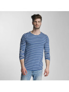 Lindbergh Longsleeve Striped blue