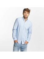 Lindbergh Shirt White Oxford blue